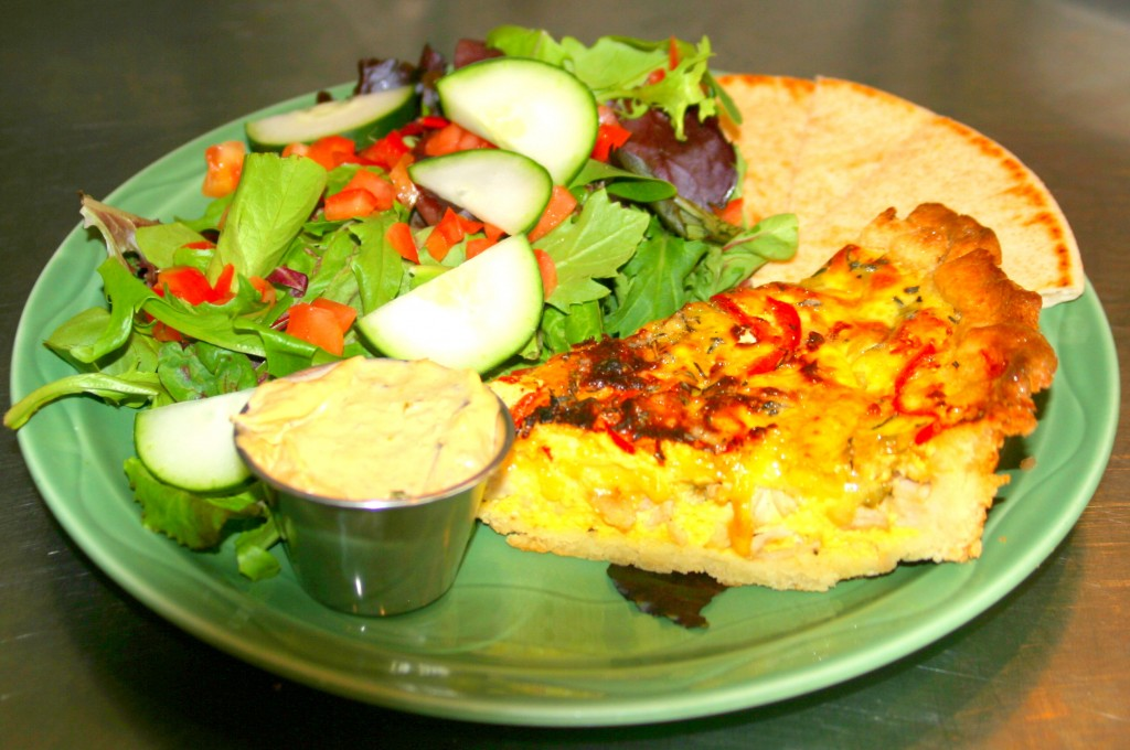 Tribes Coffee House Quiche 3 A