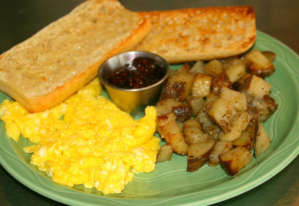 Tribes Coffeehouse Eggs Potatoes